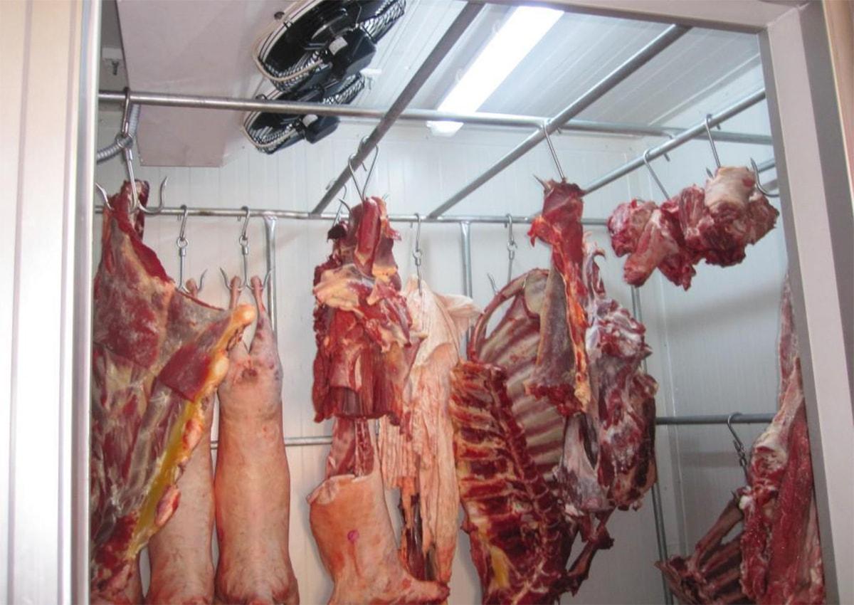 холодильна камера для мяса