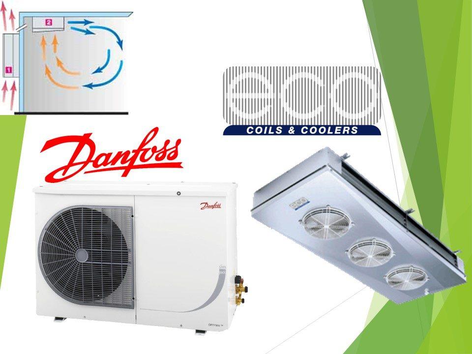 Холодильне обладнання Danfoss