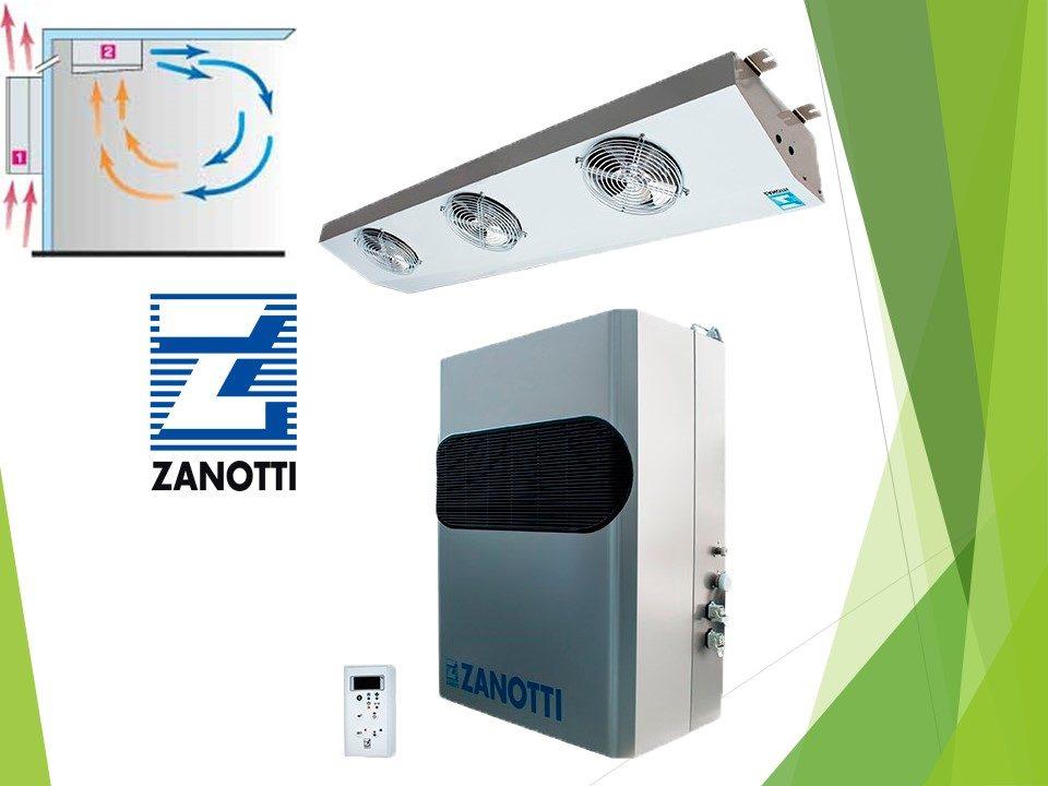 Холодильне обладнання Zanotti