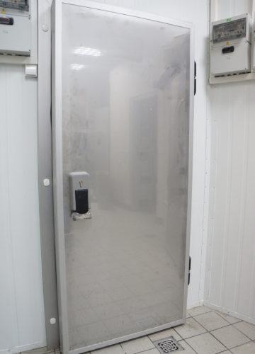 Холодильні двері з нержавійки