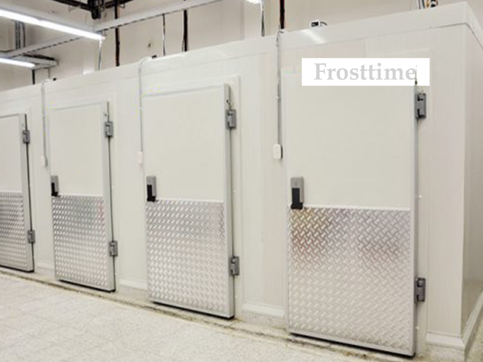 Холодильные камеры в линию